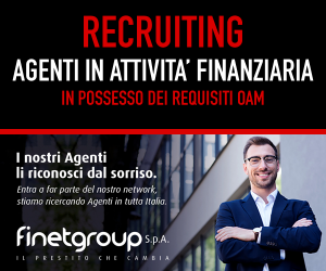 Recruiting Agente in Attività finanziaria Finet Group S.p.a