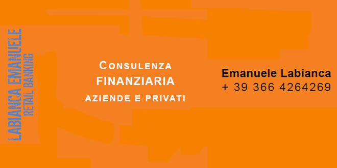 Consulenza finanziaria Bari Labianca Emanuele
